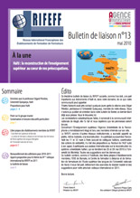 couverture du bulletin